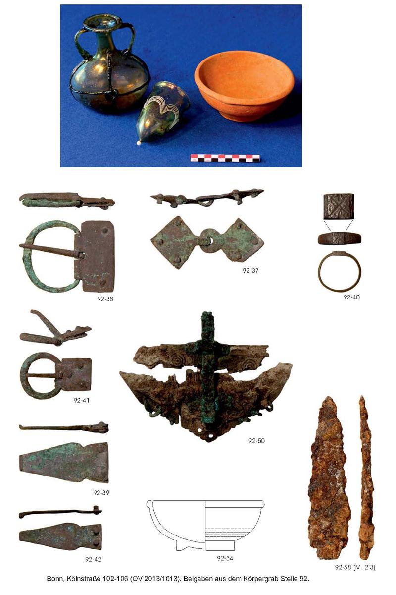 Funde aus Grab 92