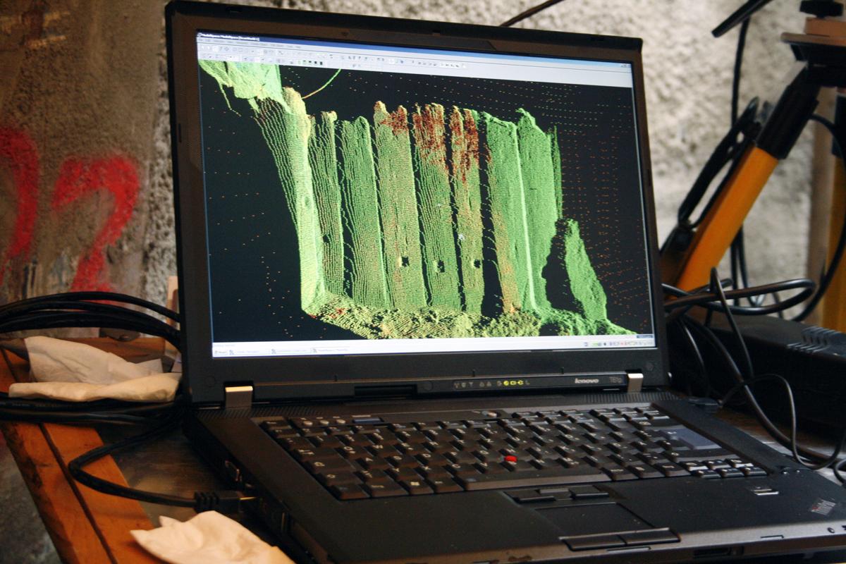 3D-Laserscanning.